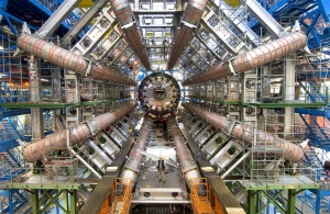 Part of the Large Hadron Collider.  Photo courtesy of Anthos Media